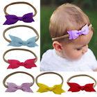 8 Colors Soft Newborn Baby Girls Toddler Kids Bow Headband Hair Band Headwear