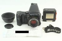 [CLA'd Near MINT] Mamiya 645 Pro TL AE Finder + Sekor C 80mm f/2.8 Lens JAPAN