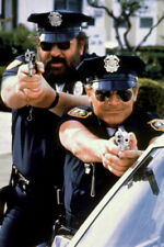 Terence Hill Bud Spencer Pointing Guns Crime Busters 24X18 Poster