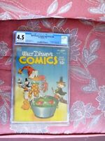 Walt Disney's Comics and Stories # 98 CGC 4.5 VG+ tape on cover 1st app. of Uncl