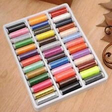 Colorful 39pcs Assorted Polyester Sewing Thread Spools for Manual Embroidery