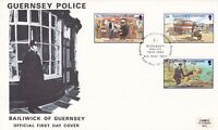 GUERNSEY 6 MAY 1980 GUERNSEY POLICE 60th ANNIVERSARY FIRST DAY COVER SHS