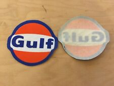 gulf iron on vintage  patch, new old stock, 80's