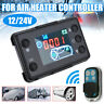 Car Air Diesel Heater LCD Switch Parking Controller With 4 Button Remote Control