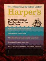 HARPER'S February 1966 ALAN MOOREHEAD IGOR STRAVINSKY +