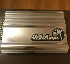 US AMPS USA-4300x 4 CHANNEL SQ AMPLIFIER