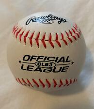 Rawlings Practice Baseball Official League Training Ball Classic Minor Major New