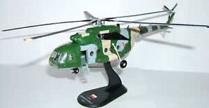 helicopter  MIL MI-8T Poland Air FORCE  model diecast  1:72 metal Amercom