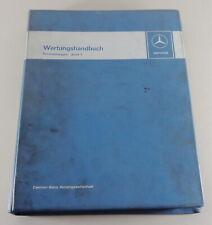 Werkstatthandbuch Einführung Mercedes W114 + W115/8 / W100 / R107 etc von 9/1971