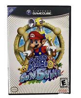 Super Mario Sunshine (Nintendo GameCube) No Manual- Tested Free Shipping