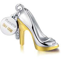 Charms Per Componibile Rosato Linea My Shoes In Argento Cod. RSH006