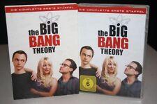 THE BIG BANG THEORY 1 Die komplette ERSTE STAFFEL auf 3 DVD's - DVD Pappschuber