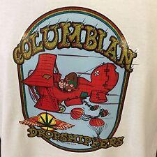 Mens Columbian Drop Shippers Canibus Marijuana Graphic T Shirt Funny Vintage L