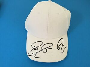 Roger Federer Rafael Nadal Dual Signed Hat Auto Beckett BAS LOA Letter COA