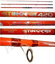 canna stingray 4.20mt 200gr in 3 sezioni surf casting pesca mare orata fondo