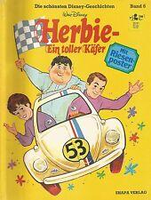 HERBIE - EIN TOLLER KÄFER / DISNEY-GESCHICHTEN  BAND 6 / EHAPA 1979