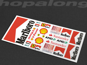 Scalextric/Slot Car 1/32 Scale Waterslide Decals. ns028w