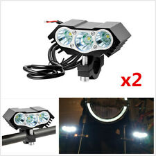 2Pcs 30W Motorcycle Scooter Spot Light T6 LED Driving Headlight Fog Driving Lamp