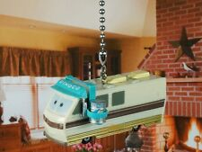 DISNEY CARS BARRY DIESEL DINOCO RV MOTORHOME Ceiling Fan Pull Light Lamp Chain