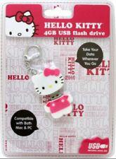 HELLO KITTY 4 GB USB flash drive, Compatible with Both MAC & PC