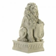 Lion Statue Entryway Ivory Guardian Lion Garden Entrance Yard Decor - New