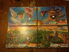 EUC Vintage GI Joe Mural Jigsaw Puzzles Set