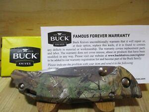 New Buck USA Bantam RealTree Xtra Camo 284 Folding Pocket Knife - 7398