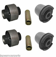 LEXUS IS200 IS300 ALTEZZA FRONT LOWER WISHBONE CONTROL ARM FRONT REAR BUSHES x4