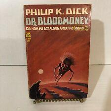 Dr Bloodmoney by Philip K Dick 1965 vintage paperback 1ST Edition