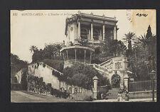 MONTE-CARLO (MONACO) KIOSQUE à MUSIQUE & CASINO animé en 1912