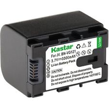 1x Kastar Battery for JVC BN-VG121 VG121U Everio GZ-GX1 G3 E10 EX575 HD620 HM960