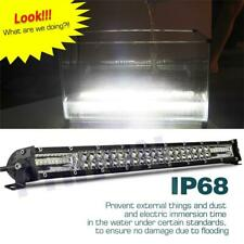 "20""300W UltraSlim LED Light Bar Dual Row Spot Flood Combo Fog offroad Work Light"