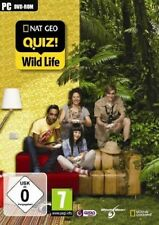 NAT GEO QUIZ! WILD LIFE PC WINDOWS NUOVO ITALIANO DVD GAME