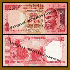 India 20 Rupees, 2014 P-103 New Rupee Symbol Unc