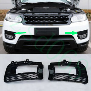 2x For Land Rover Range Rover Sport 2014-2017 Front Left+Right Fog Light Grille