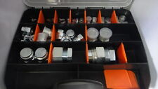 Hydraulic Plug & Cap Kit - 40 Pieces BSPT. Diff Sizes. Workshop, Field Tech