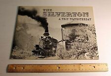 The Silverton A Trip to Yesterday Durango Railroad J A Stowe Softbound 1960's