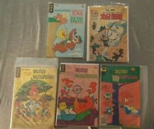 5 Comics Yogi Bear 1970 #28, 42 Woody Woodpecker 1966 #90, 130, 161
