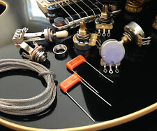 TAOT Wiring Kit - LES PAUL® - SHORT Shaft - CTS TAOT CUSTOM 5% Pots, O Dro