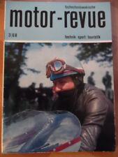 Tschechoslowakische MOTOR REVUE 3 - 1968 Gustav Havel Jawa 90 ccm Skoda Jawa-CZ