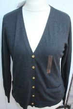 Strickjacke -  Gr. L 40 - 42 - Ralph Lauren - dark grey - Neuware