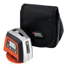 BLACK & DECKER Manual Rotating Base Laser Line Level For Tiling, Shelving,BDL120
