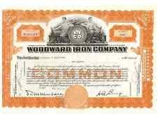 Woodward Iron Company  1947
