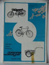 Staiger Katalog 1958