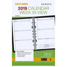 Collins Debden Weekly Dated Desk Edition Refill 1 Year