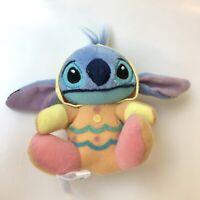NWOT JAPAN SEGA DISNEY STITCH Easter Egg Spring Stitch Dangle Stuffed Plush Toy