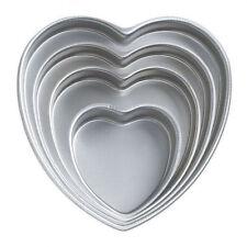 Heart 4pc Decorator Preferred Cake Pan Set from Wilton #606 - NEW