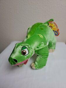 "Spike Dino Universal Studios Land Before Time 14"" Long 8"" Tall Plush Kellytoy"
