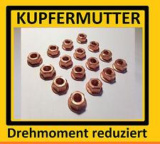 turbo madre madre de cobre m8 8 unidades de escape madre aufdrehmoment reduce