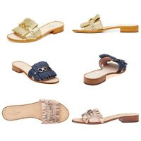 NEW KATE SPADE BRIE/BEAU SLIDE SANDALS/VARIOUS COLORS/SIZE 6-8.5